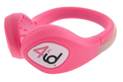 Power Spurz Shoe Safety Light: Pink