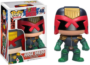 2000 AD Funko Pop Comic Heroes Vinyl Figure Judge Dredd