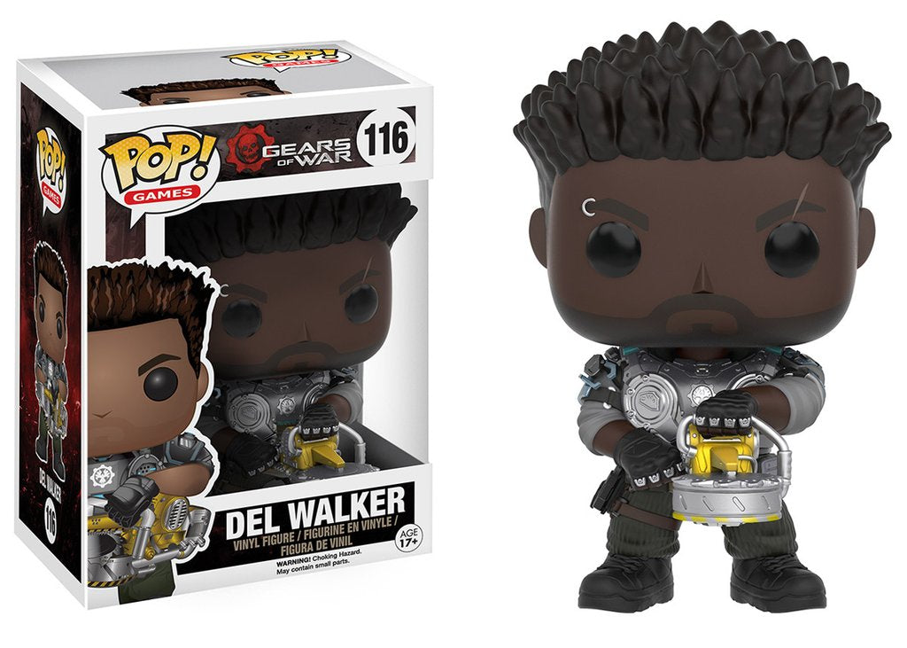 Gears of War Funko Pop Games Vinyl Figure Del (Armored)