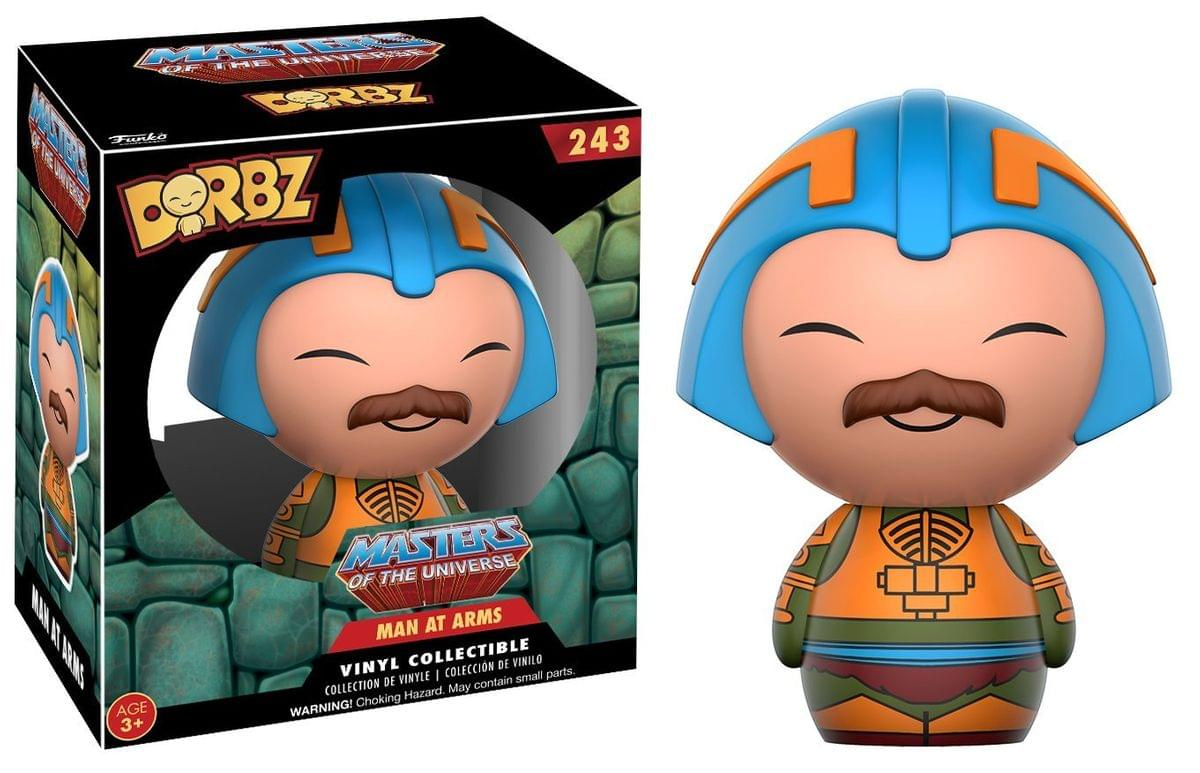 "Masters of the Universe 3"" Dorbz Vinyl Figure: Man-At-Arms"