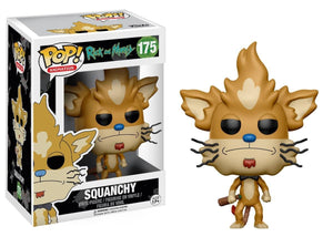 Rick and Morty Funko Pop Squanchy Vinyl Figure