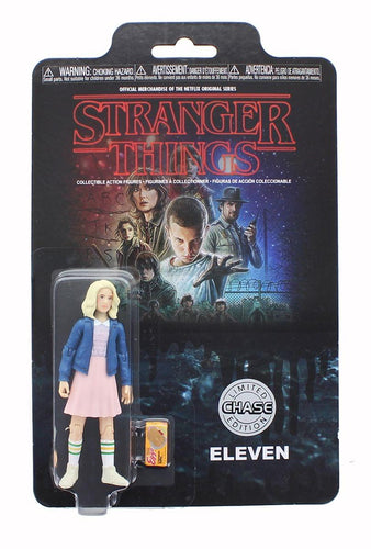 Stranger Things Funko 3 3/4-Inch Chase Action Figure - Eleven w/ Blonde Wig