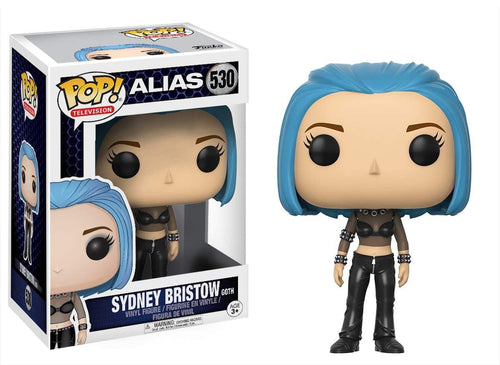 Alias Funko POP Vinyl Figure - Sydney Bristow Blue Hair