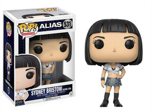 Alias Funko POP Vinyl Figure - Sydney Bristow Black Hair
