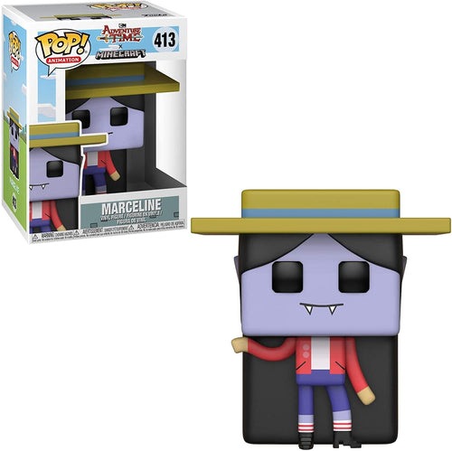 Adventure Time x Minecraft Funko POP Animation Vinyl Figure | Marceline