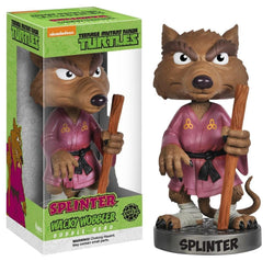Funko Teenage Mutant Ninja Turtles Splinter Wacky Wobbler Bobble Head