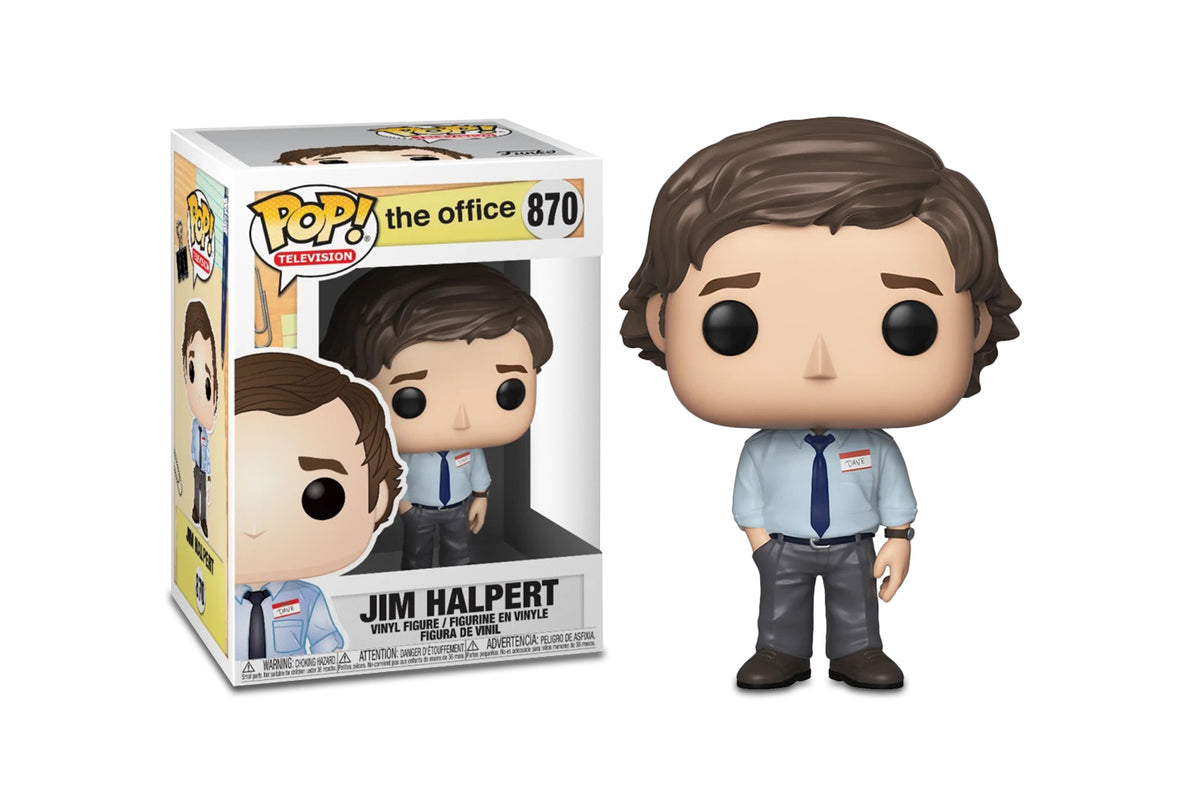 The Office Funko POP TV Vinyl Figure | Jim Halpert