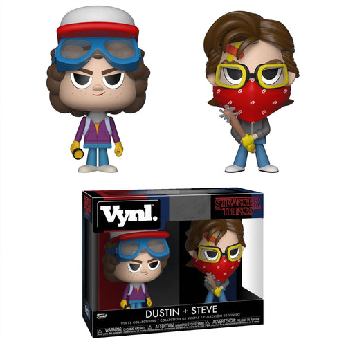 Stranger Things Funko VYNL Figure Set | Steve & Dustin