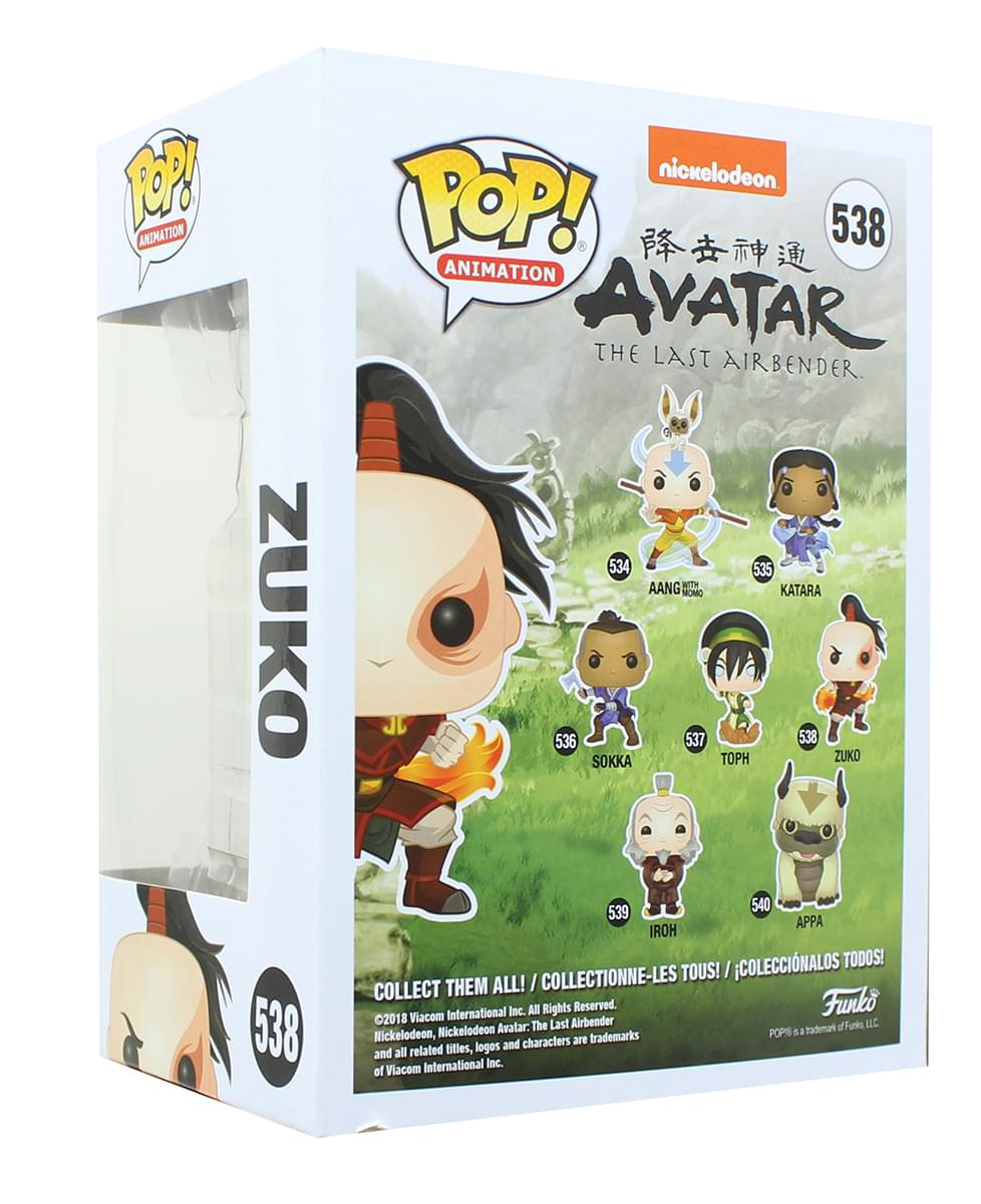 Avatar: The Last Airbender Funko POP Vinyl Figure | Zuko