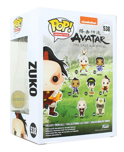 Avatar The Last Air Funko POP Vinyl Figure - Zuko Chase
