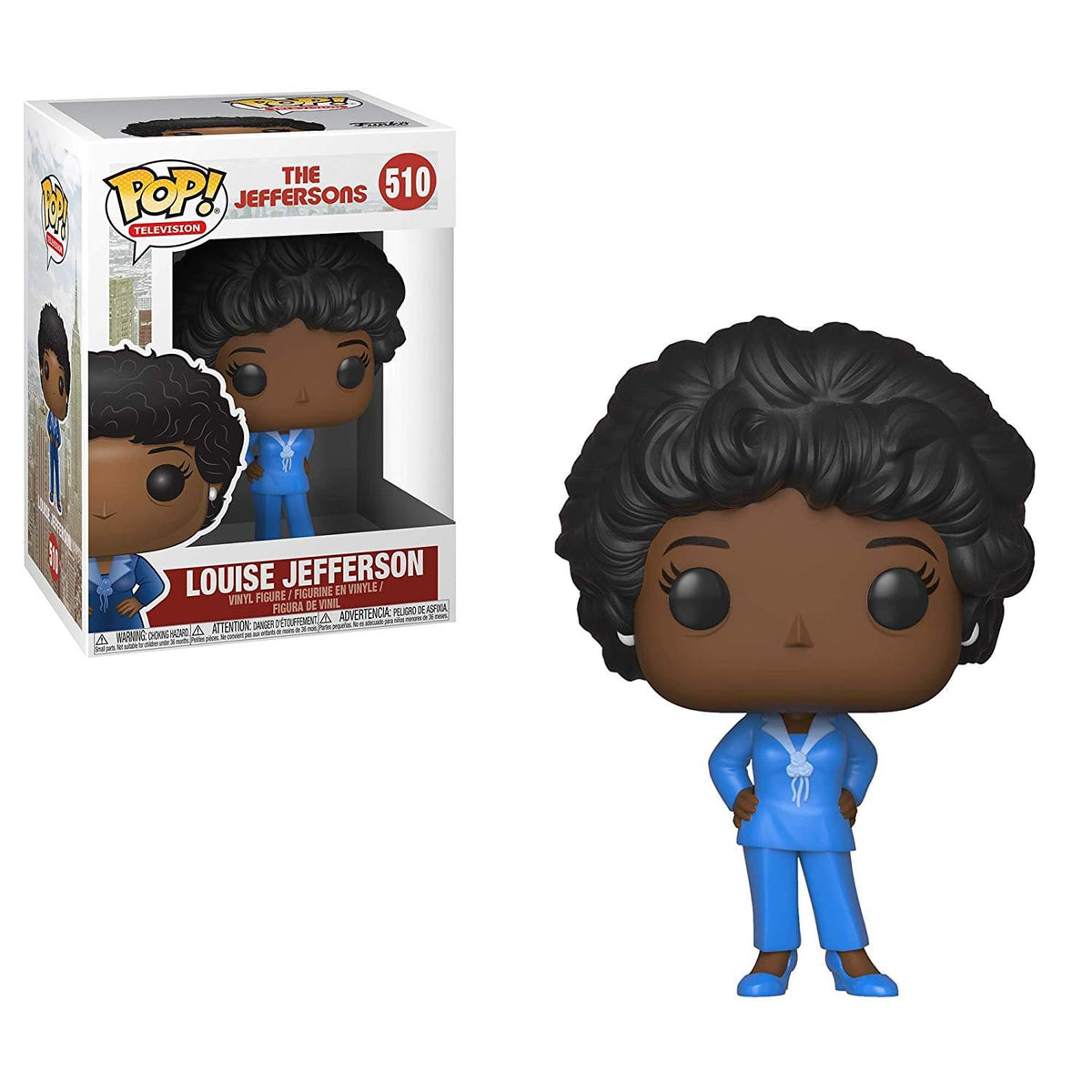 The Jeffersons Funko POP Vinyl Figure - Louise Jefferson