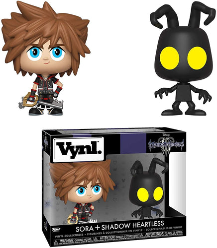 Kingdom Hearts 3 Funko VYNL Figure Set | Sora & Shadow Heartless