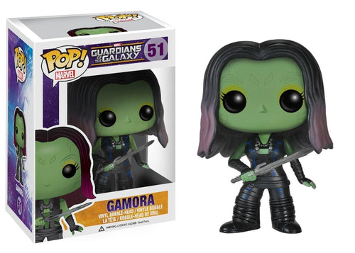 Guardians of the Galaxy Funko Pop Marvel Vinyl Bobble Head Gamora