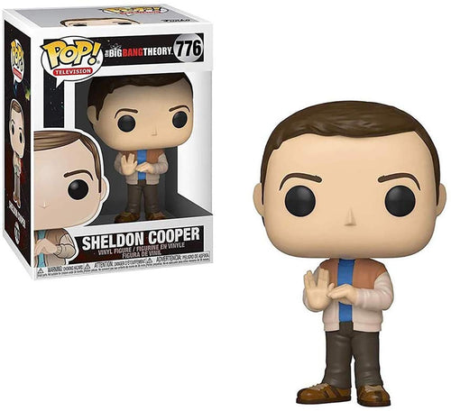 Big Bang Theory S2 Funko POP Vinyl Figure | Sheldon Cooper
