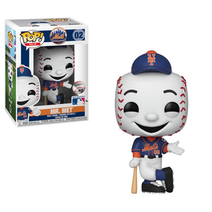 NY Mets MLB Funko POP Vinyl Figure | Mr. Met