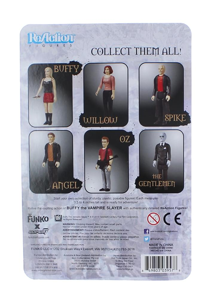 Funko Buffy the Vampire Slayer Spike ReAction Figure