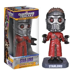 Funko Marvel Guardians Of The Galaxy Star-Lord Wacky Wobbler Bobble Head