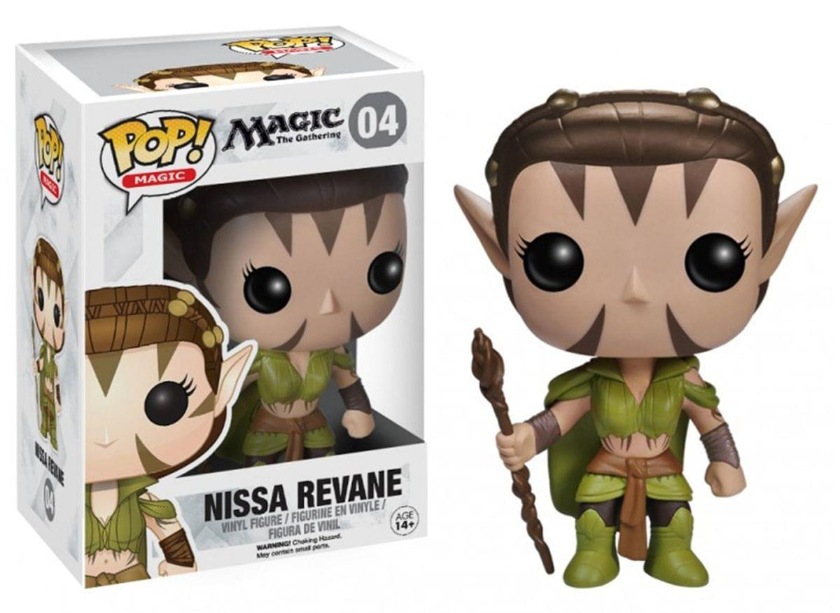 Magic The Gathering Pop Games Vinyl Figure Nissa Revane