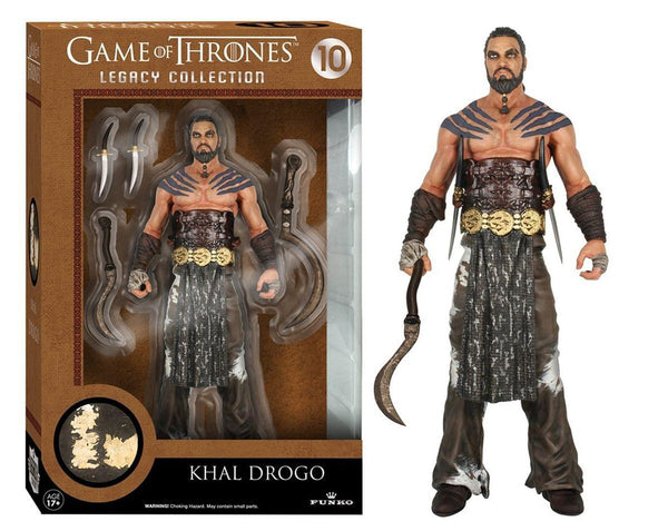 "Game of Thrones Funko 6"" Legacy Action Figure: Khal Drogo"