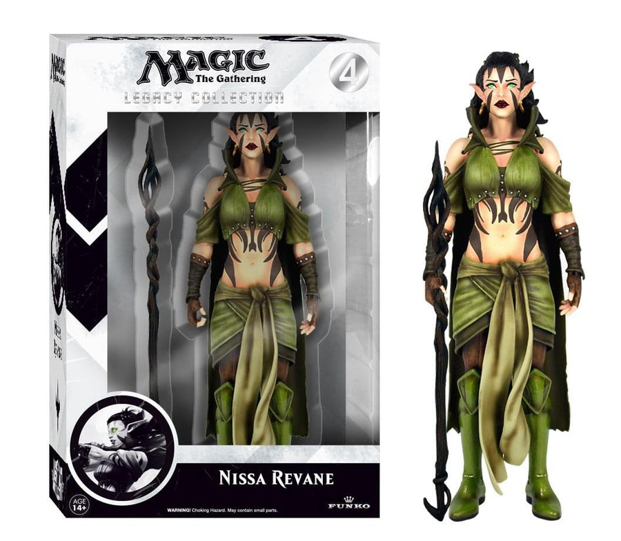 Magic The Gathering Nissa Revane Funco Legacy Collection Figure