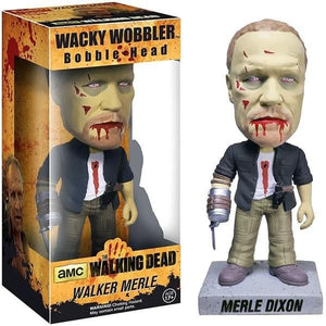 The Walking Dead Wacky Wobbler Bobble Head Zombie Merle