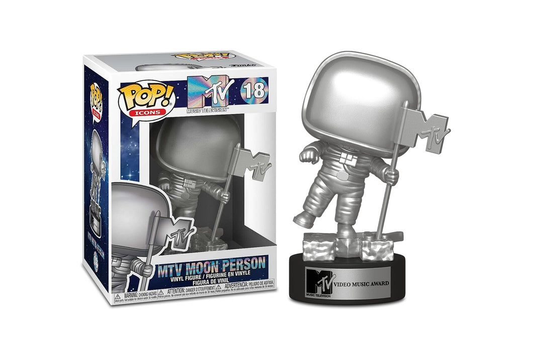 MTV Funko POP Icons Vinyl Figure | Moon Person