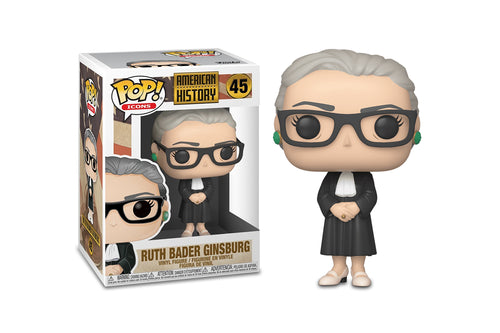 American History Funko POP Icons Vinyl Figure | Ruth Bader Ginsburg