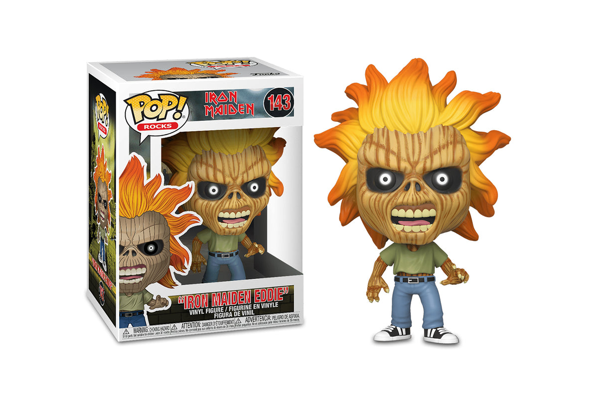 Iron Maiden Funko POP Rocks Vinyl Figure | Skeleton Eddie