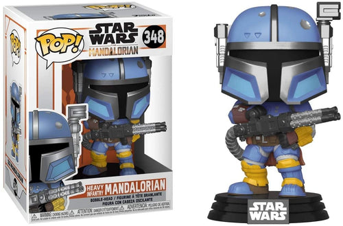 Star Wars The Mandalorian Funko POP Vinyl Figure | Heavy Infantry Mandalorian