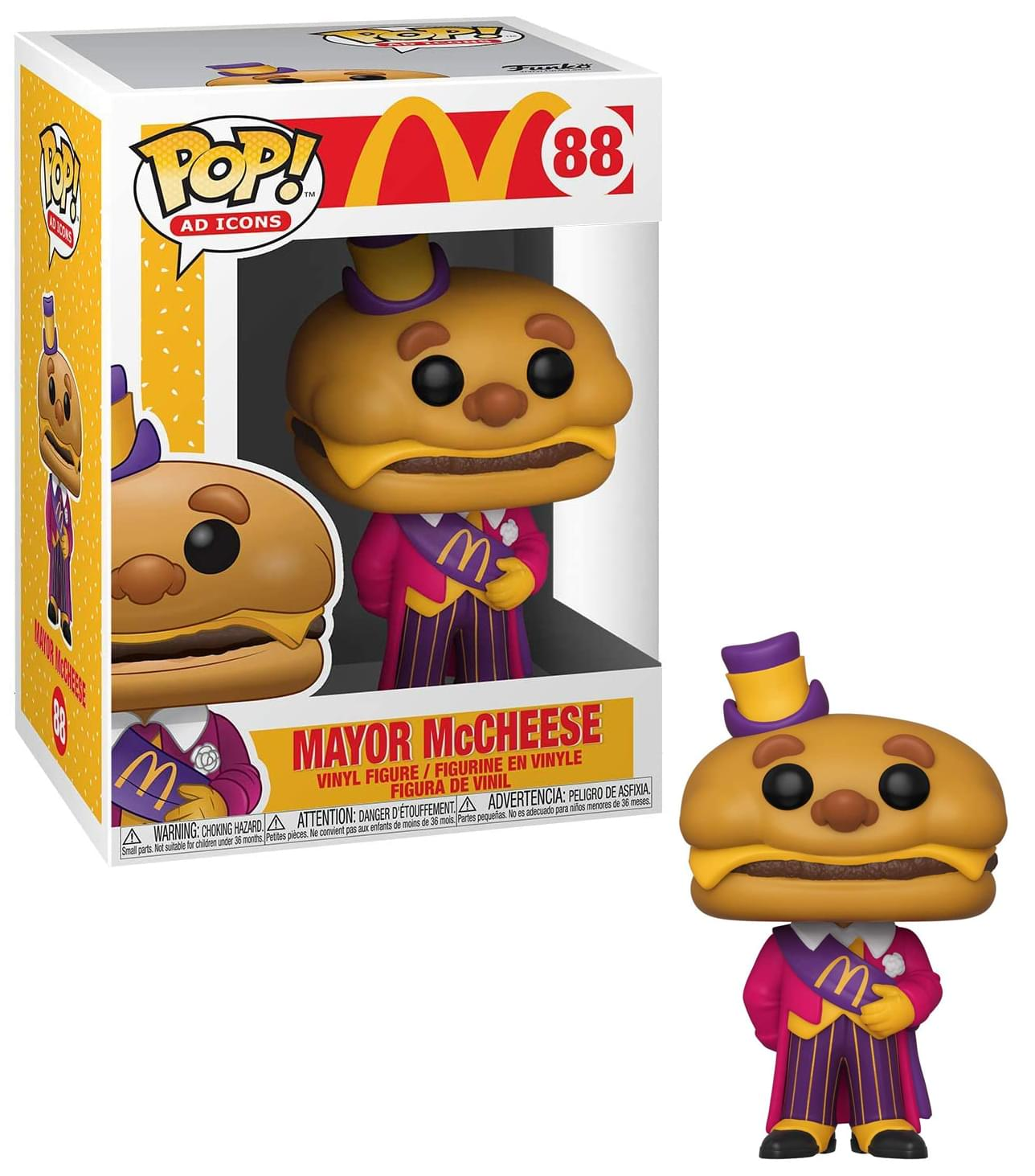 Free Shipping Mcdonald S Pop Figure Mayor Mccheese Toynk Toys A mcdonalds restaurant character that has been retired for a while now. funko