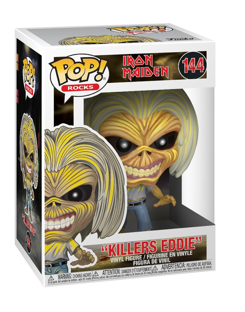 Iron Maiden Funko POP Rocks Vinyl Figure | Killers Eddie
