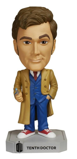 Funko Doctor Who Tenth Doctor Wacky Wobbler Bobble Head