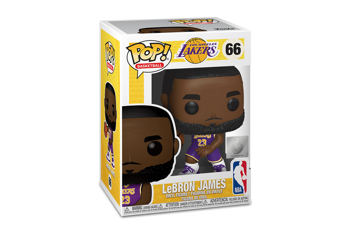 LA Lakers NBA Funko POP Vinyl Figure | Lebron James