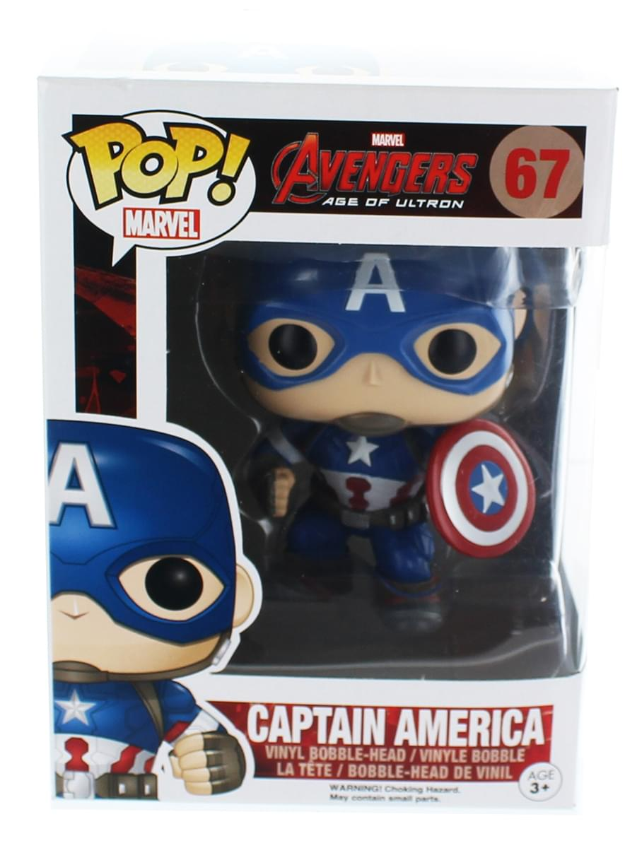 Avengers Age of Ultron Funko POP Vinyl Figure Captain America
