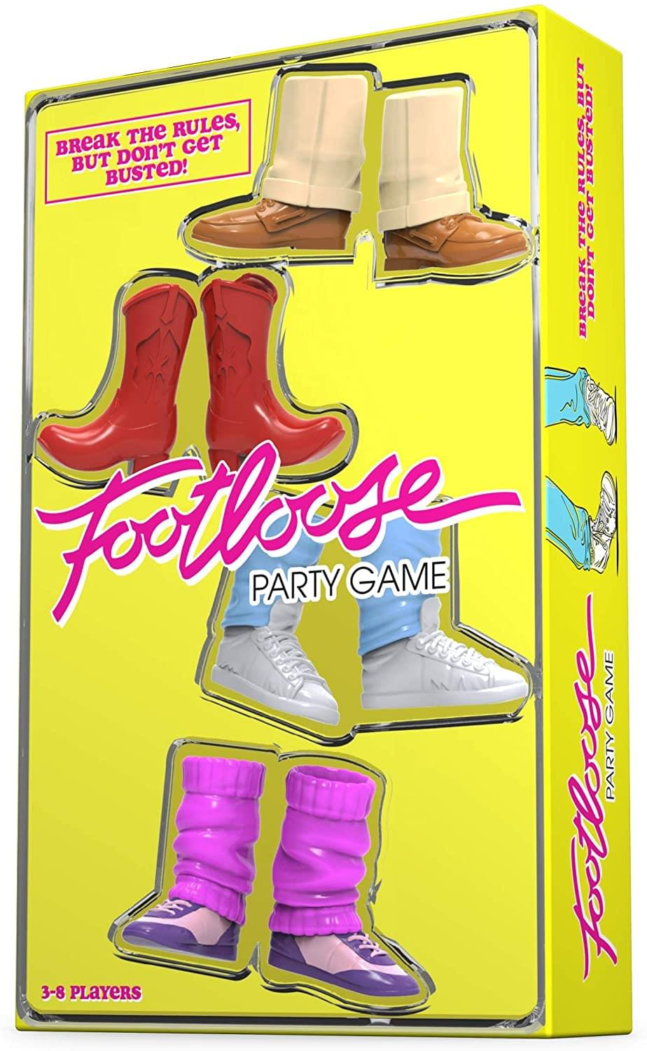 Funko Games Footloose Party Game | 3-8 Players
