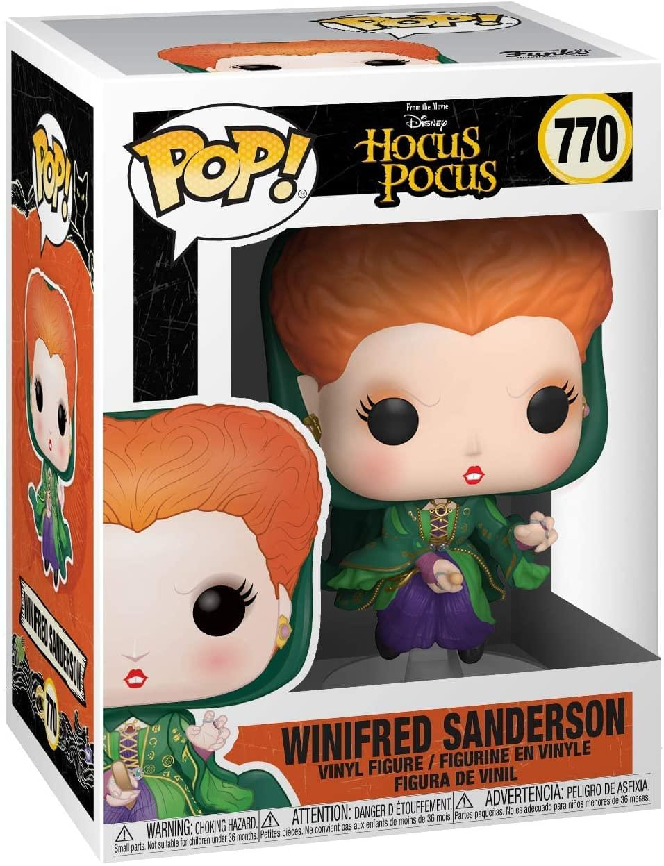 Hocus Pocus Funko POP Disney Vinyl Figure | Winifred Flying