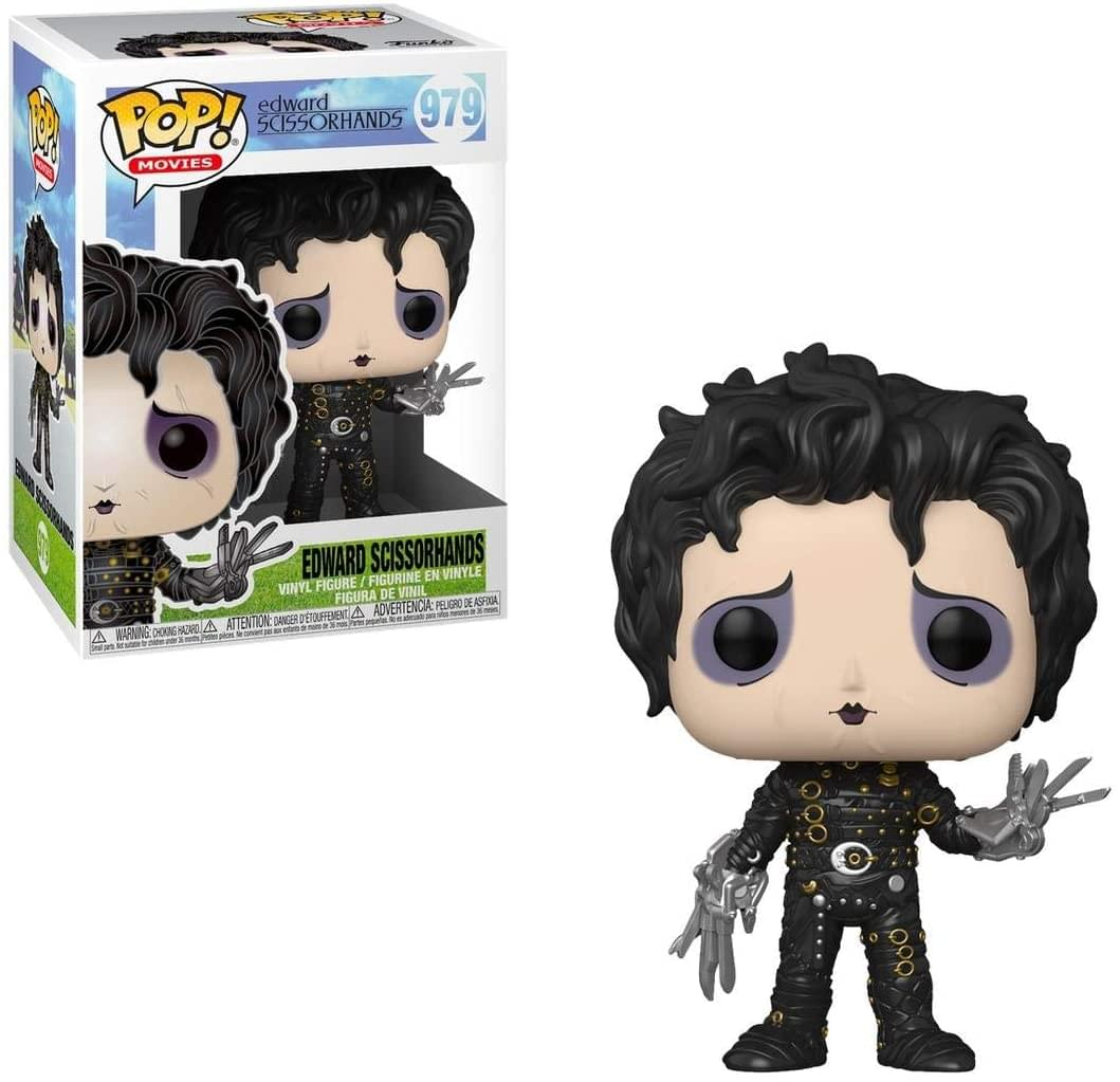 Edward Scissorhands Funko POP Movies Vinyl Figure | Edward Scissorhands