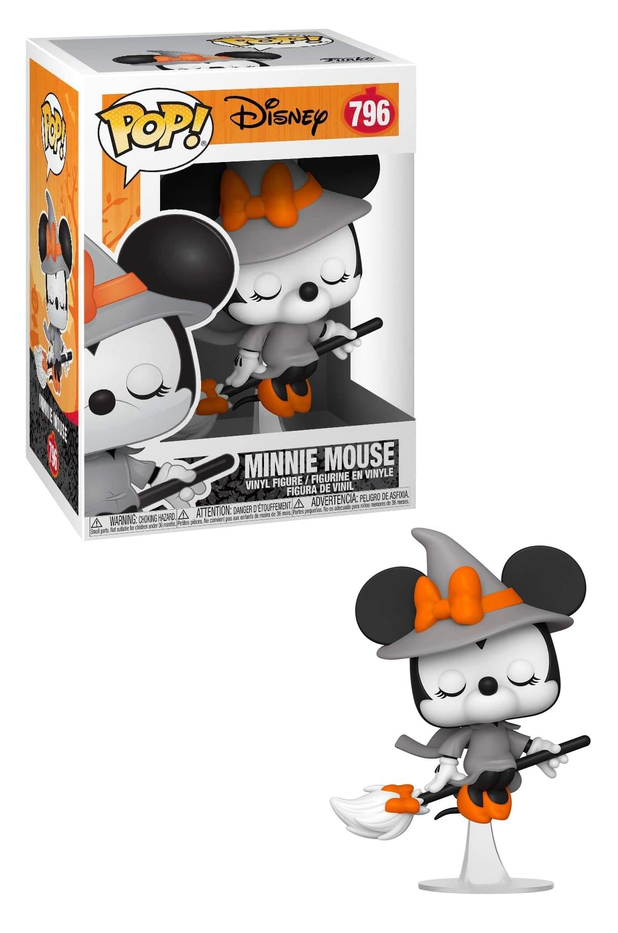 Disney Funko POP Halloween Vinyl Figure | Witchy Minnie