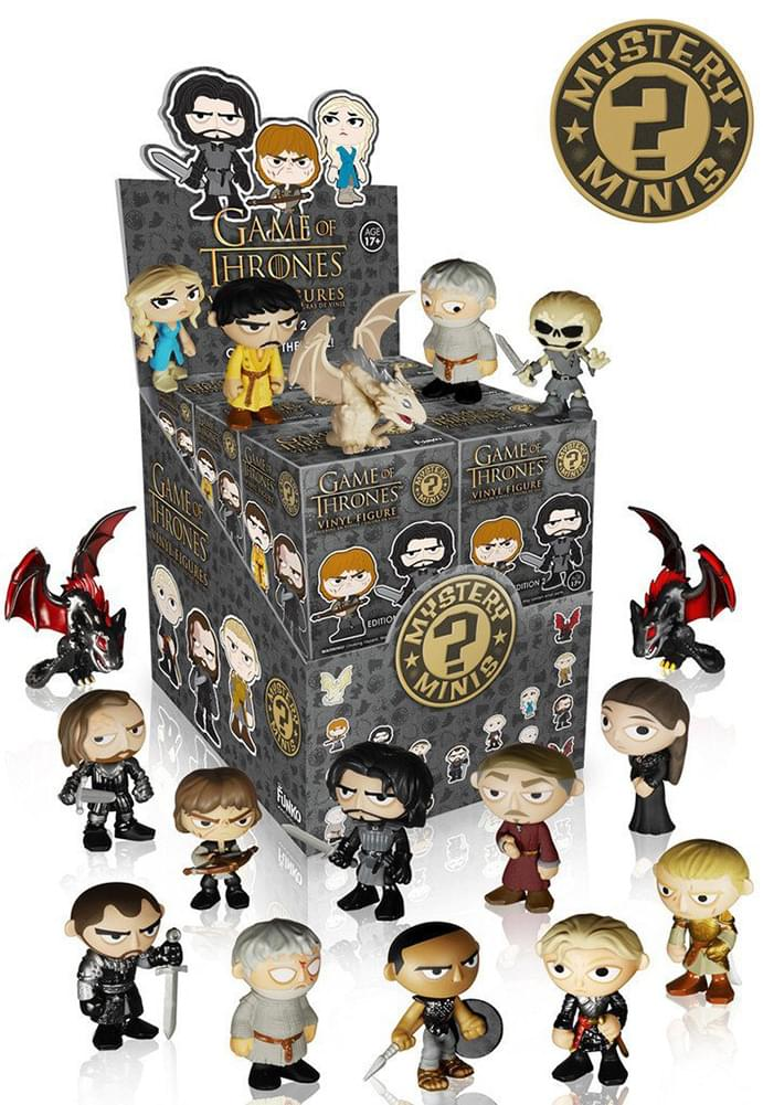 Game of Thrones Funko Blind Packaging Minis Random Vinyl Mini-Figure Series 2