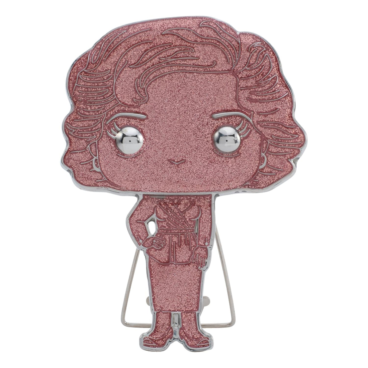 The Golden Girls 4 Inch Funko POP! Pin | Rose | Glitter Chase
