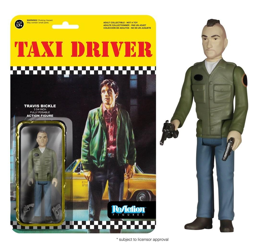"Taxi Driver Funko ReAction 3 3/4"" Action Figure Travis Bickle"