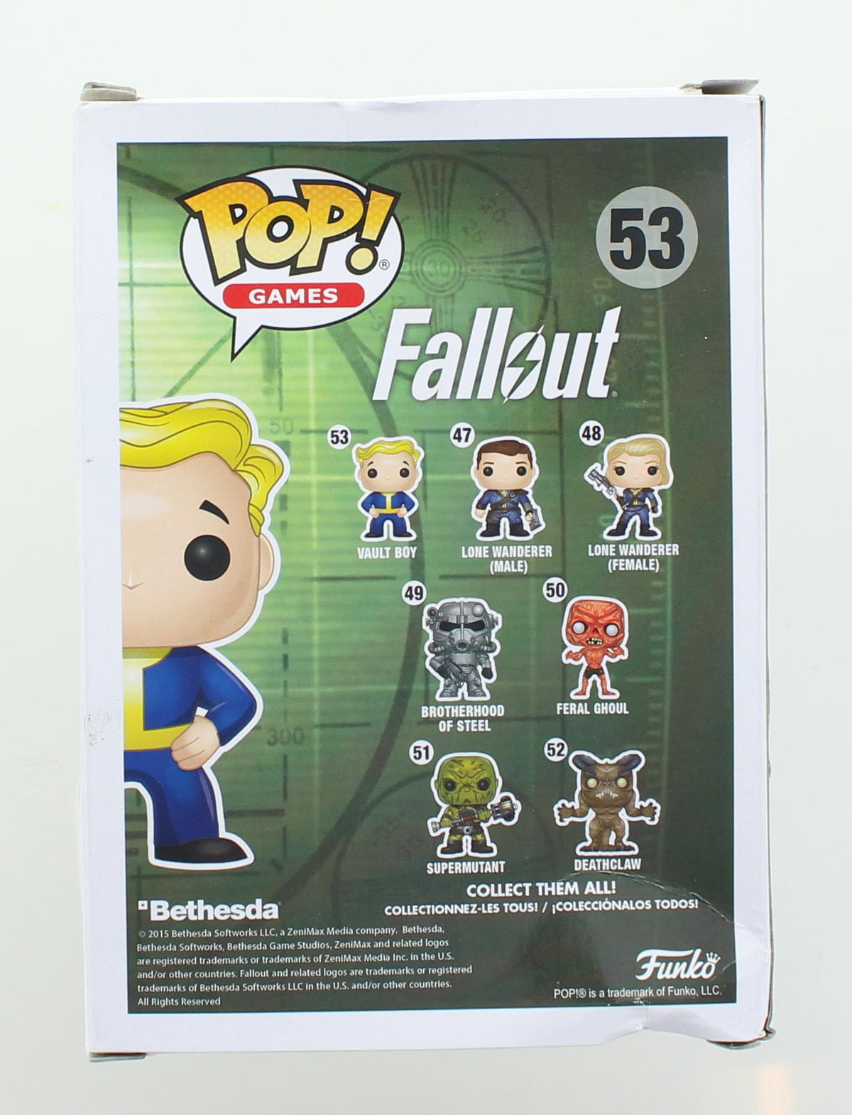Fallout Funko POP Vinyl Figure | Vault Boy | Damaged Box