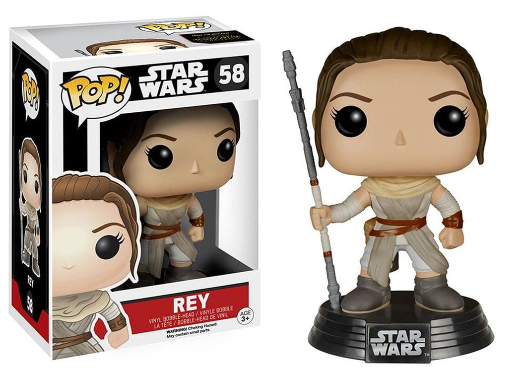 Star Wars The Force Awakens Funko POP Vinyl Figure Rey