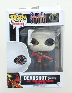 DC Comics Suicide Squad Funko POP Vinyl Figure | Masked Deadshot | Damaged Box