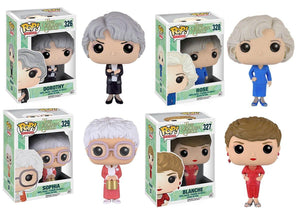The Golden Girls POP Vinyl Figure Collector's Set: Blanche, Dorothy, Rose, and Sophia