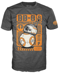 Star Wars The Force Awakens Funko POP Movie Poster BB-8 Adult T-Shirt