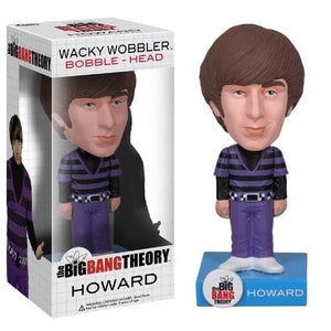 Funko The Big Bang Theory Howard Wacky Wobbler Bobble Head
