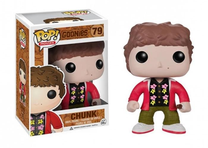 "The Goonies 3.75"" Pop Movies Vinyl Figure: Chunk"