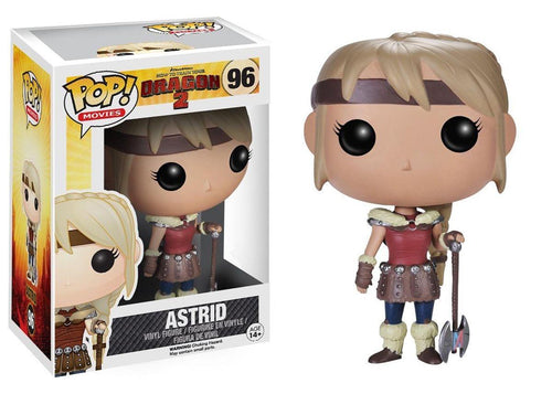 How to Train Your Dragon 2 Pop Movies Vinyl Figure Astrid
