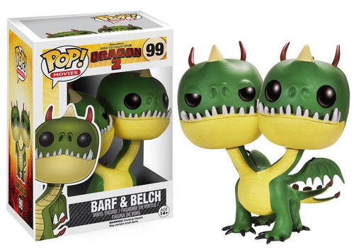How to Train Your Dragon 2 Pop Movies Vinyl Figure Barf & Belch